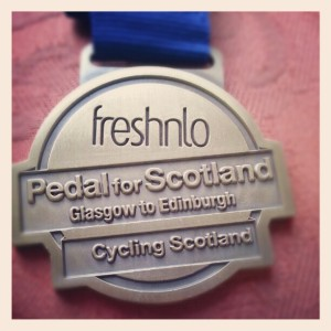 September- Pedal For Scotland
